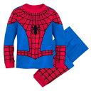 【8月14-15日発送】 ディズニー Disney US公式商品 スパイダーマン パジャマ 寝巻き 部屋着 服 コスチューム 衣装 ドレス コスプレ ハロウィン ハロウィーン 男の子用 子供 男の子 ボーイズ [並行輸入品] Spider-Man Costume PJ PALS for Boys グッズ ストア プレゼン