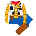 【取寄せ】 ディズニー Disney US公式商品 ウッディ トイストーリー カウボーイ パジャマ 寝巻き 部屋着 服 コスチューム 衣装 ドレス コスプレ ハロウィン ハロウィーン 男の子用 子供 男の子 ボーイズ [並行輸入品] Woody Costume PJ PALS for Boys グッズ ストア プレゼン
