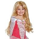 【あす楽】 ディズニー Disney 眠れる森の美女 オーロラ姫 プリンセス ウィッグ かつら 付け毛 コスチューム ハロウィーン 子供 衣装 服 仮装 コスプレ ハロウィン 子供用 女の子 女子 女児 ガールズ [並行輸入品] Licensed Wigs Aurora Deluxe Child Wig グッ