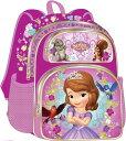 【あす楽】【M】 ディズニー Disney ソフィア ちいさなプリンセス プリンセス リュック リュックサック 旅行 バッグ バックパック 鞄 かばん 女の子 女子 女児 子供 子供用 ガールズ キッズ [並行輸入品] SOFIA THE FIRST TODDLER 12