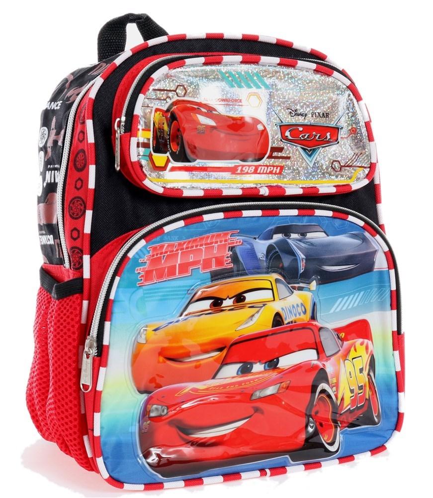キッズ・ベビー・マタニティ, その他 M Disney CARS TODDLER 12 BACKPACK - TOP ENGINE 201