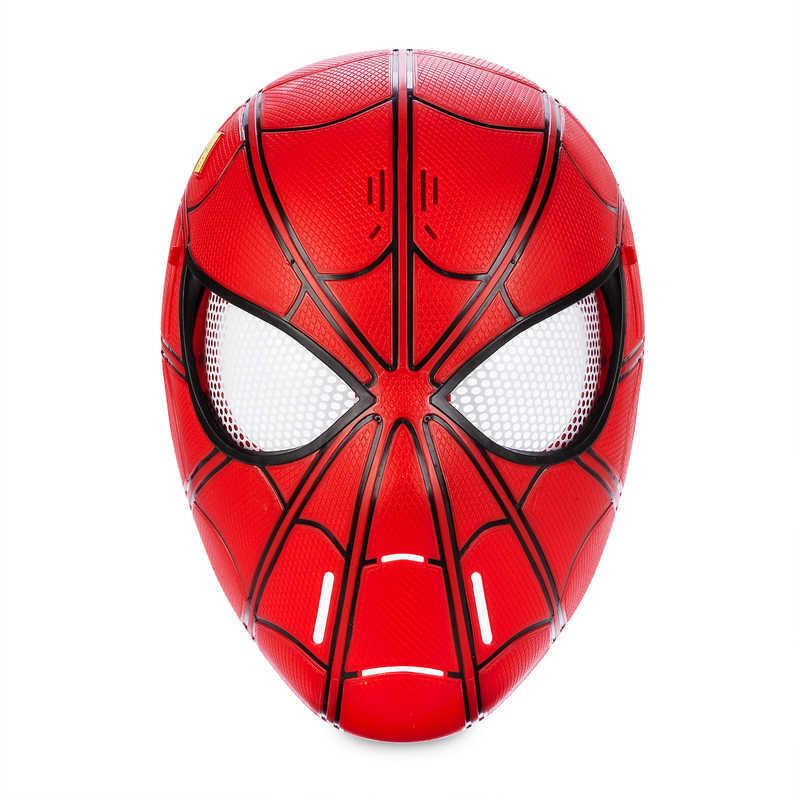 Marvel Spiderman Toddler Boys Spiderman Mask Red Full Zip Velboa Hoodie