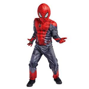 【取寄せ】 ディズニー Disney US公式商品 スパイダーマン コスチューム 衣装 ドレス 服 コスプレ ハロウィン ハロウィーン セット 子供 キッズ 女の子 男の子 [並行輸入品] Spider-Man Costume Set for Kids - Spider-Man: Far from Home グッズ ストア プレゼント ギフト