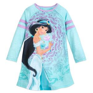 【あす楽】 ディズニー Disney US公式商品 アラジン ジャスミン プリンセス 長袖 長そで 服 パジャマ 寝巻き 部屋着 女の子用 子供用 女の子 ガールズ 子供 [並行輸入品] Jasmine Long Sleeve Nightshirt for Girls グッズ ストア プレゼント ギフト クリスマス 誕