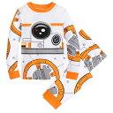 【取寄せ】 ディズニー Disney US公式商品 スターウォーズ BB-8 BB8 パジャマ 寝巻き 部屋着 服 コスチューム 衣装 ドレス コスプレ ハロウィン ハロウィーン 男の子用 子供 男の子 ボーイズ [並行輸入品] Costume PJ PALS for Boys Star Wars グッズ ストア プレゼント