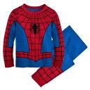 【あす楽】 ディズニー Disney US公式商品 スパイダーマン パジャマ 寝巻き 部屋着 服 コスチューム 衣装 ドレス コスプレ ハロウィン ハロウィーン 男の子用 子供 男の子 ボーイズ [並行輸入品] Spider-Man Costume PJ PALS for Boys グッズ ストア プレゼント ギ