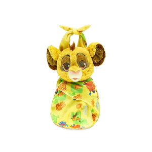 【あす楽】 ディズニー Disney US公式商品 ライオンキング シンバ バッグ 鞄 ポーチ 手提げ バック かばん 小サイズ ぬいぐるみ 人形 おもちゃ ドール フィギュア 25cm [並行輸入品] Babies Simba Plush Doll in Pouch ? The Lion King Small 10'' グッズ スト