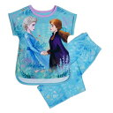 【あす楽】 ディズニー Disney US公式商品 アナ雪2 アナと雪の女王 アナ雪 2 プリンセス アナ エルサ セット 女の子用 子供用 パジャマ 寝具 部屋着 女の子 ガールズ 子供 [並行輸入品] Anna and Elsa Sleep Set for Girls - Frozen グッズ ストア プレゼント
