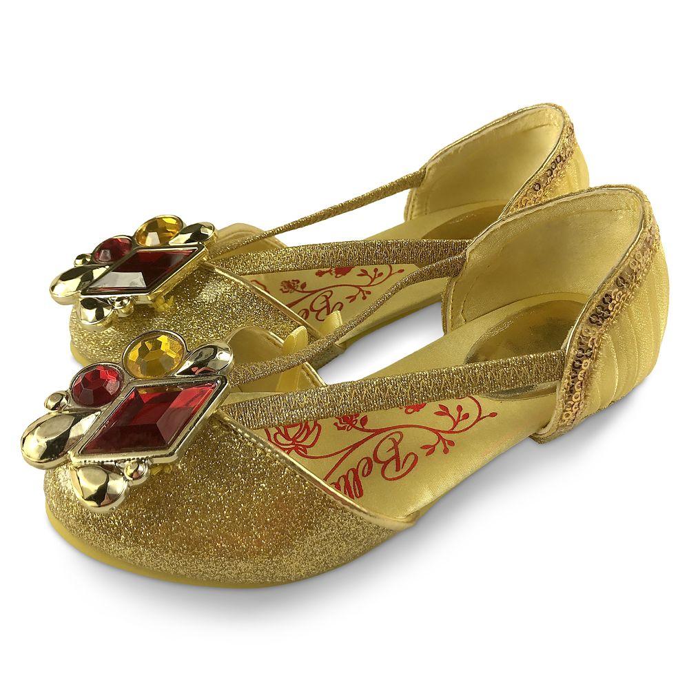 キッズ・ベビー・マタニティ, その他  Disney US Belle Costume Shoes for Kids ? Beauty and the Beast