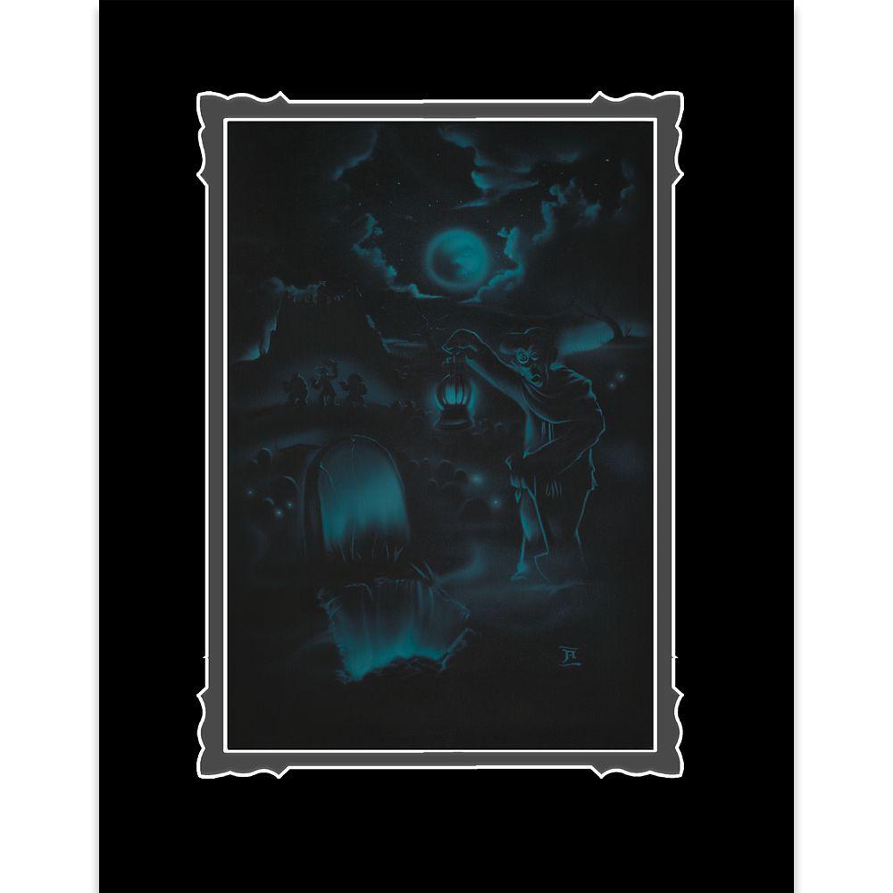 【取寄せ】 ディズニー Disney US公式商品 ホーンテッドマンション 絵 アート デラックスプリント 絵画 プリント インテリア [並行輸入品] The Haunted Mansion ''Room for One More'' Deluxe Print by Noah グッズ ストア プレゼント ギフト クリスマス 誕生日 人気画像