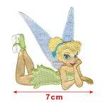 """【あす楽】ディズニー Disney ティンカーベル アップリケ アイロンでくっつく 手芸 ワッペン クラフト 工作 おもちゃ 玩具 トイ [並行輸入品] Disney Tinker Bell Iron On Applique-Tinker 2-1/2""""X3"""" 1/Pkg"""