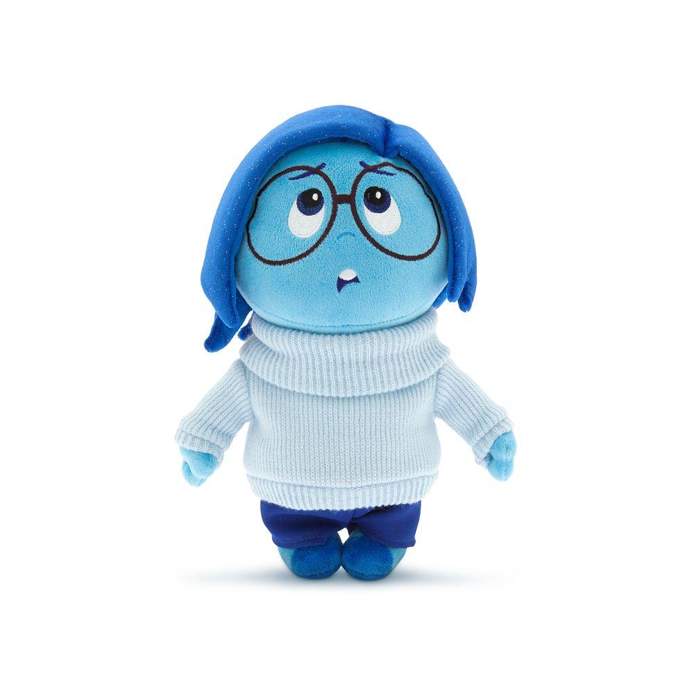 【1-2日以内に発送】 ディズニー Disney US公式商品 インサイドヘッド Inside Out カナシミ サドネス ぬいぐるみ 人形 おもちゃ 27.5cm [並行輸入品] Sadness Plush ? Small 11'' グッズ ストア プレゼント ギフト クリスマス 誕生日 人気画像