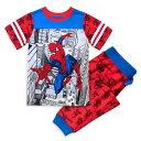 【1-2日以内に発送】 ディズニー Disney US公式商品 スパイダーマン セット 男の子用 子供 パジャマ 寝具 部屋着 男の子 ボーイズ [並行輸入品] Spider-Man Sleep Set for Boys グッズ ストア プレゼント ギフト クリスマス 誕生日 人気
