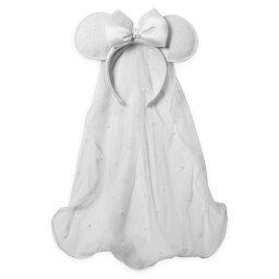 【取寄せ】 ディズニー Disney US公式商品 ミニーマウス ミニー ヘッドバンド ヘアアクセサリー イヤーヘッドバンド アクセサリー バンド [並行輸入品] Minnie Mouse Bridal Ear Headband グッズ ストア プレゼント ギフト クリスマス 誕生日 人気