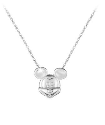 【取寄せ】ディズニー Disney US公式商品 ミッキーマウス ネックレス ジュエリー アクセサリー [並行輸入品] Mickey Mouse Necklace