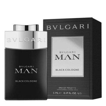 ブルガリ ブルガリ マン ブラック コロン EDT 5ml(ミニ) 【BVLGARI】【W_42】