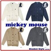 スクール カーディガン ミッキーマウス Disneyzone レディース アクリル