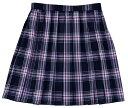 【送料無料】スクールスカート【BENCOUGAR femme】ブラック×ピンクチェック女子学生服スクール 【532P19Apr16】