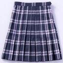 【送料無料】スクールスカート【BENCOUGAR femme】ベージュ×ピンクチェック 【532P19Apr16】