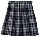【送料無料】スクールスカート(平織)【BENCOUGAR femme】グレーチェック 【532P19Apr16】