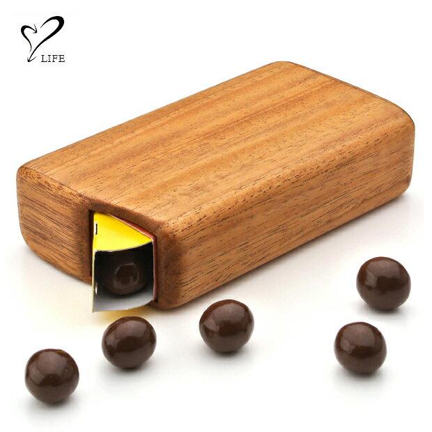 LIFE ウッドチョコボールケースの商品画像