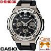 CASIOG-SHOCKアナデジソーラー電波GST-W110-1AJF