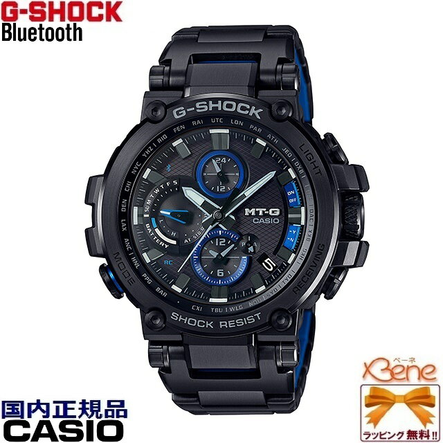 腕時計, メンズ腕時計 CASIO G-SHOCKMT-G Bluetooth174; TRIPLE G RESIST MTG-B1000BD-1AJF