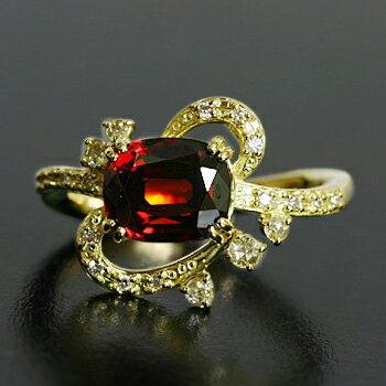 ガーネット×ダイヤモンドリング「カリナンII」:ベーネ・ベーネ