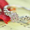 【送料無料】一生の内、一つだけでも手にしたい!アーガイル産ピンクダイヤモンドリング。「花のささやき」アーガイル産ピンクダイヤモンドリングゴールド、ピンクゴールドでもお作り頂けますオーダー対応サイズ:6号〜15号【smtb-m】【b_1108】
