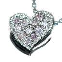 「Luxury Heart/ラグジュアリー・ハート」  その美しい発色を永遠のあこがれにするのか、等身大の自分のものにするのか。【送料無料】アーガイル鉱山産 ピンクダイヤモンドペンダントトップゴールド、ピンクゴールドでもお作り頂けますオーダー【smtb-m】【b_1108】