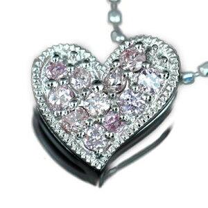 K18 ペンダント ピンクダイヤモンド 「Luxury Heart/ラグジュアリー・ハート」  その美しい発...