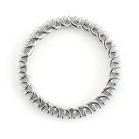 ローズカットダイヤモンドフルエタニティリング「ボンド」対応金種:PT900※リングサイズのお直しはとなります【送料無料】