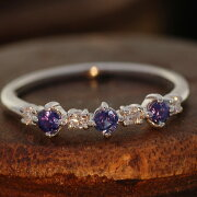 アレキサンドライト ダイヤモンド