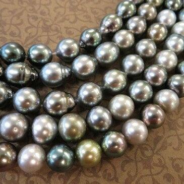 ☆マルチカラー南洋真珠 ネックレス42cm銀座サロン販売アイテムお買い物かご 誕生石 6月