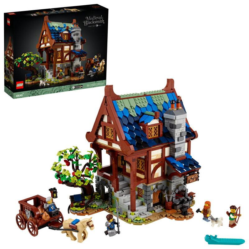 レゴ(LEGO) レゴアイデア 中世のかじ屋 21325
