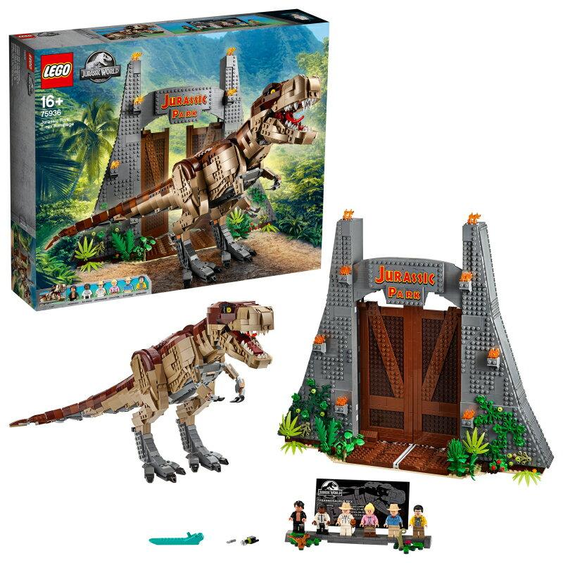 75934 ディロフォサウルスの脱走