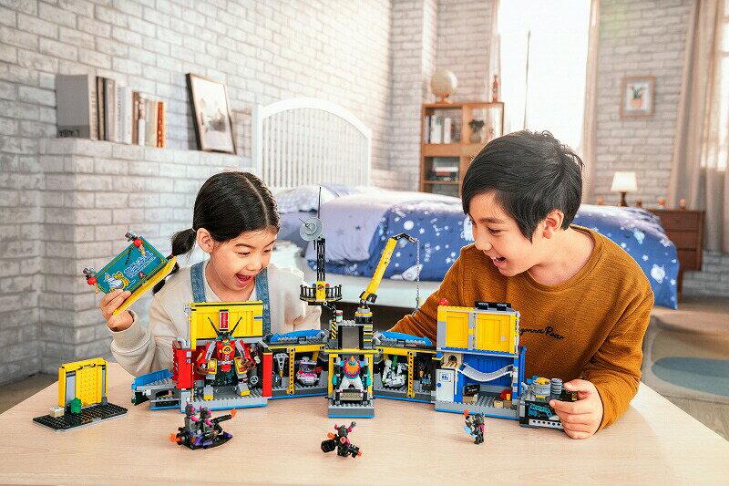 レゴ (LEGO) モンキーキッド モンキーキッドの秘密基地 80013