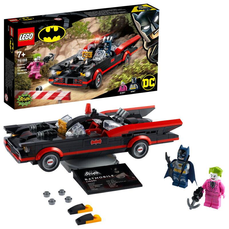 レゴ(LEGO) スーパー・ヒーローズ バットマン:クラシック・テレビシリーズ・バットモービル 76188