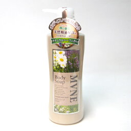 MVNE ミューネ ボディソープ チュラルハーブの香り 600ml コンビニ受取対応商品