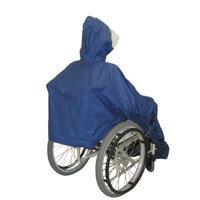 【車椅子用レインコート】『フレンド』男女兼用フリーサイズ