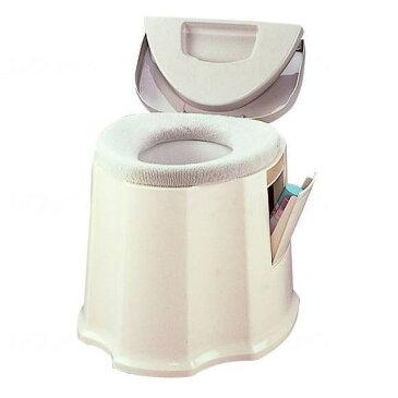 ポータブルトイレ GX 533093 アロン化成 安寿 介護用トイレ トイレ補助 おまる 大人用 高齢者 老人 シニア 介護用品 排泄 自活 樹脂製 狭い部屋
