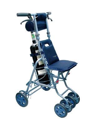 ボンベを積んで歩行できるシルバーカー【送料無料】【島製作所】サニー酸素ボンベカー 【smtb-s】