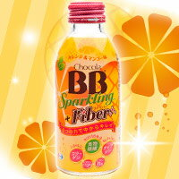チョコラBBスパークリング+ファイバー 140ml*24本/チョコラBB/オレンジ マンゴー/栄養機能食品...
