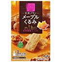 【5箱セット】バランスアップ 玄米ブラン メープルくるみ(3枚×5袋) その1