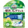 スクラビングバブル トイレスタンプクリーナー 贅沢フレグランス アロマティックグリーンの香り 本体 (38g)