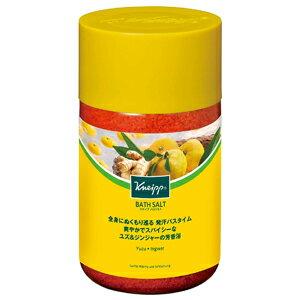 クナイプ バスソルト ユズ&ジンジャーの香り 850g(ボトル)