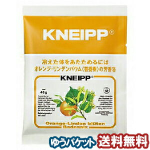 クナイプ バスソルト オレンジ・リンデンバウムの香り 40g 【医薬部外品】 メール便送料無料