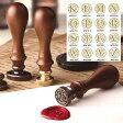 ◆『封蝋印』シーリングワックススタンプ/K〜Z/アルファベットシリーズ/16種類から選べます/パーソナルシール/封書・ラッピング・スクラップブッキングに【福袋価格】【RCP】