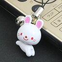 ◆首ふりが可愛い♪/ウサギのストラップ【福袋価格】【RCP】