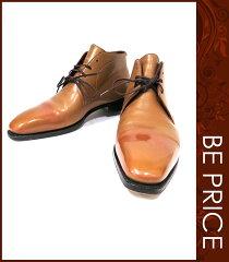 【Corthay/コルテ】靴 CHUKKAブーツ ビジネスシューズ【5ハーフ】【Bランク】【中古】